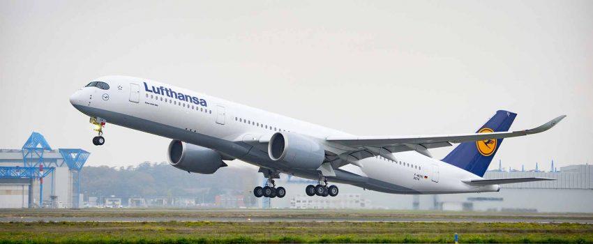 Lufthanza naručila dodatnih 20 A350-900; Do kraja februara Erbas primio 852 porudžbine za svoj A350 XWB model