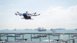 Erbas obavio prvu svetsku isporuku paketa dronom sa obale na brod