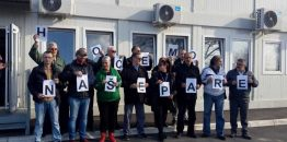 """Održan protest dela radnika """"Nikole Tesle""""; Sindikati: Sporne otpremnine i učešće zaposlenih u dobiti aerodroma"""
