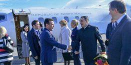 Novi naziv Republike Makedonije na Vladinom Learjet 60 avionu