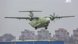 Prvi let novog ruskog transportnog aviona Il-112V