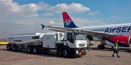 """NIS u 2018. godini prodao više od 187 hiljada tona avio-goriva; Kupljene i tri nove cisterne za snabdevanje """"Nikole Tesle"""""""