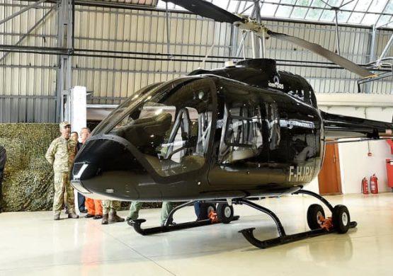 Prikaz Bell Helicoptera na Golubovcima: Predstavljen mogući naslednik Gazele, helikopter Bell 505