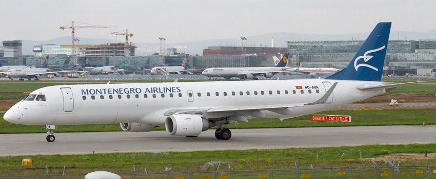 Rekordan vikend za Montenegro Airlines, 360.000 prevezenih putnika za 7 meseci ove godine