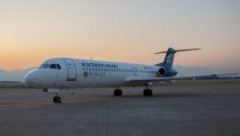 Montenegro Airlines: Foker 100 na letu prema Moskvi preventivno sleteo u Kalugu zbog pogoršanja zdravstvenog stanja jednog od pilota