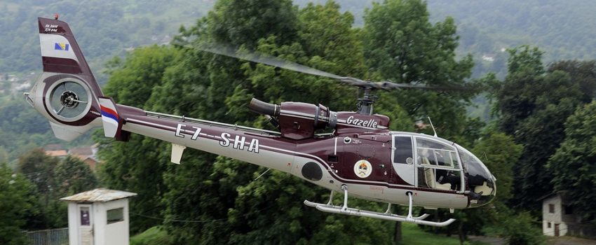 Helikopterski servis Republike Srpske prodaje pet helikoptera Gazela