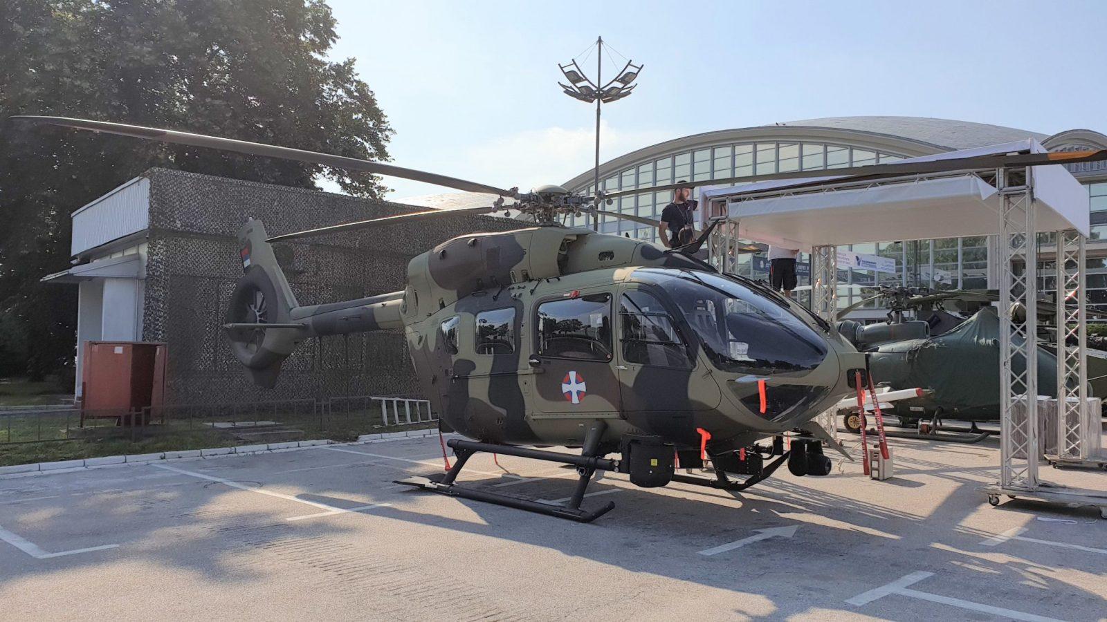 [PRVE FOTOGRAFIJE] Prvi H145M u Srbiji