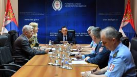Ministar odbrane održao sastanak sa direktorima DCV-a i SMATSA-e