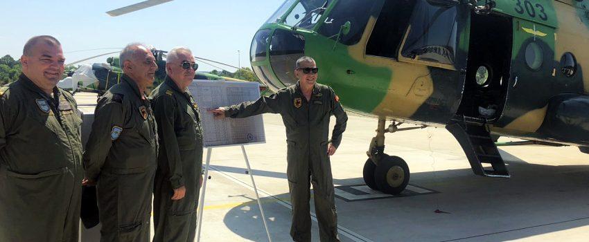 Severna Makedonija proslavila 25. godina upotrebe helikoptera Mi-17