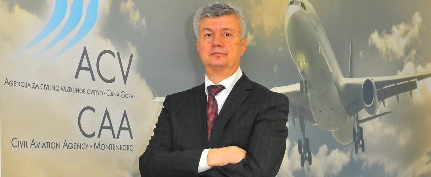 Direktor Agencije za civilno vazduhoplovstvo Crne Gore: Ulaganje u sigurnost predstavlja ulaganje u budućnost