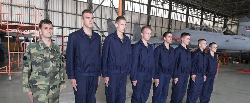 Nakon 15 godina odškolovani prvi podoficiri za vazduhoplovnotehničku službu