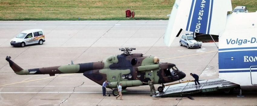 Srbiji isporučeni vojni helikopteri Mi-17V-5, stigao i još jedan H145M