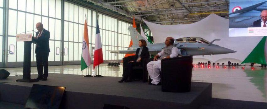 Primopredaja prvih borbenih aviona Rafal namenjenih Ratnom vazduhoplovstvu Indije