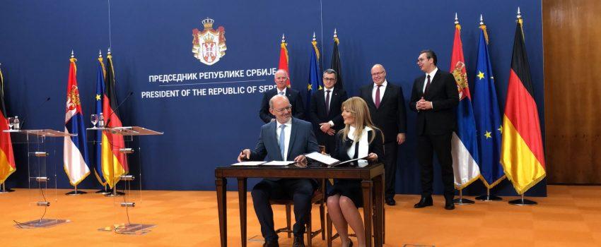 Potpisan sporazum: MTU će buduće radnike obučavati u Srbiji, zapošljavanje odmah nakon srednje škole