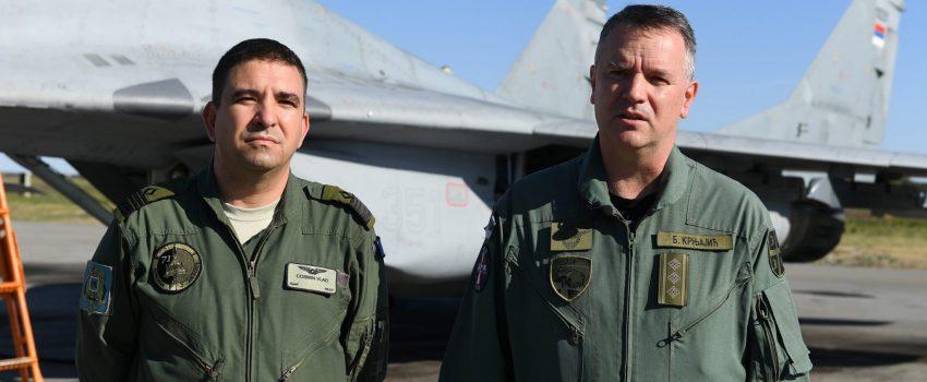 Pukovnik Brane Krnjajić novi komandant 204. vazduhoplovne brigade; general Bilić novi zamenik komandanta RV i PVO