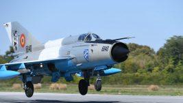 """[VIDEO] Počela zajednička rumunsko-srpska vazduhoplovna vežba """"Air Solution 2019"""", srpski MiG-ovi 29 prvi put u Rumuniji, na vežbi takođe prvi put učestvuju rumunski F-16"""