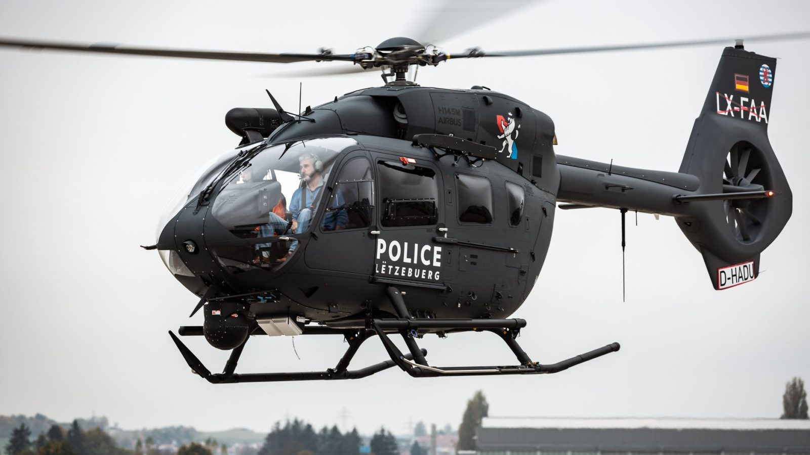 Luksemburgu isporučen prvi helikopter H145M