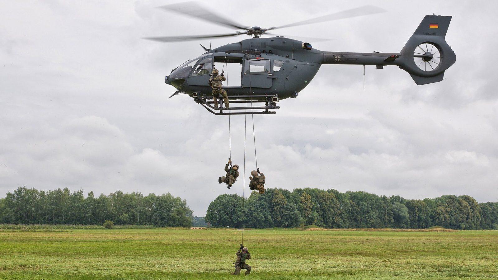 Erbas razvija sistem zaštite helikoptera H145M putem stvaranja dimne zavese