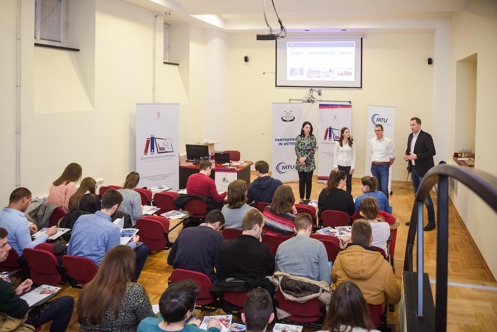 Prva prezentacija kompanije MTU u Vazduhoplovnoj akademiji