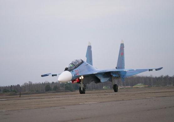 Belorusija dobila prva dva višenamenska borbena aviona Su-30SM