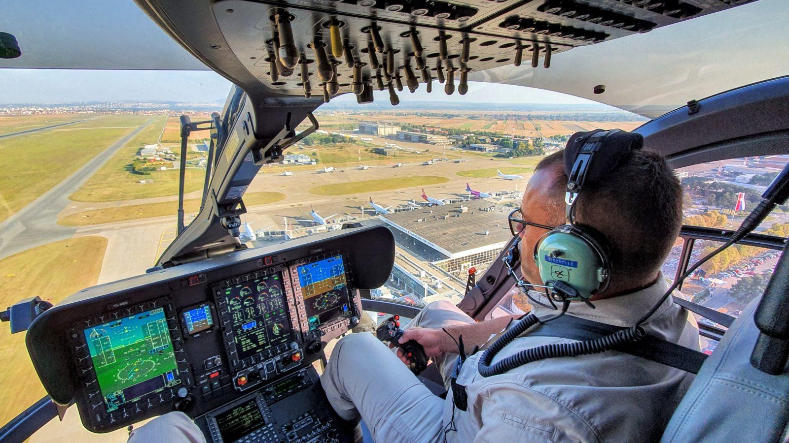 Helikopterska jedinica MUP-a Srbije dobila ovlašćenje za obuku pilota na Erbasovom EC 145