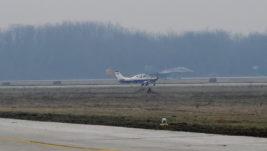 Piloti RV i PVO na letačkoj obuci na školskom avionu Lasta V-54