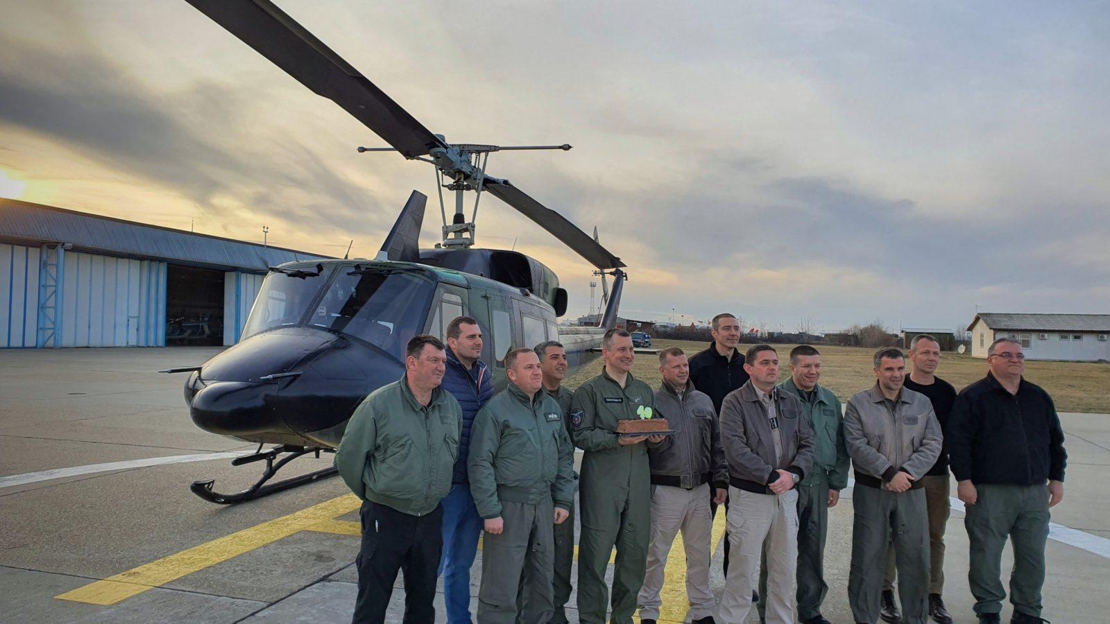 Jedan od najstarijih državnih helikoptera danas proslavio 40. rođendan