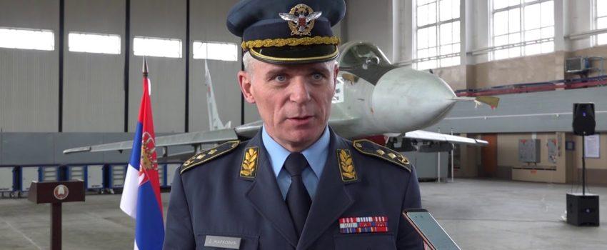"""Intervju komandanta RV i PVO za """"Odbranu"""": Unapređene operativne sposobnosti, poboljšan standard pripadnika vida, nedostatak kadra vazduhoplovno-tehničke specijalnosti"""