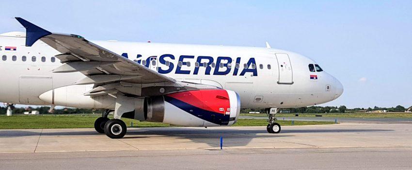 Er Srbija privremeno obustavlja međunarodni putnički saobraćaj