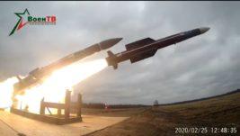 Belorusija ispituje novu raketu zemlja-vazduh modernizovanog raketnog sistema PVO Buk
