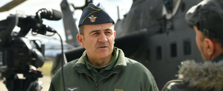 Prvi put prikazana nova kapa za pilote RV i PVO Vojske Srbije