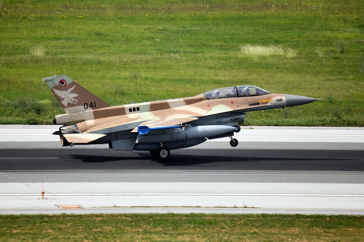 Izraelski F-16D Block 30 Barak-2020 za posjete Hrvatskoj u kolovozu 2018. / Foto: MORH