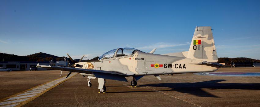 Južnokorejski proboj na afričko tržište, prvi avion KA-1S za Senegal