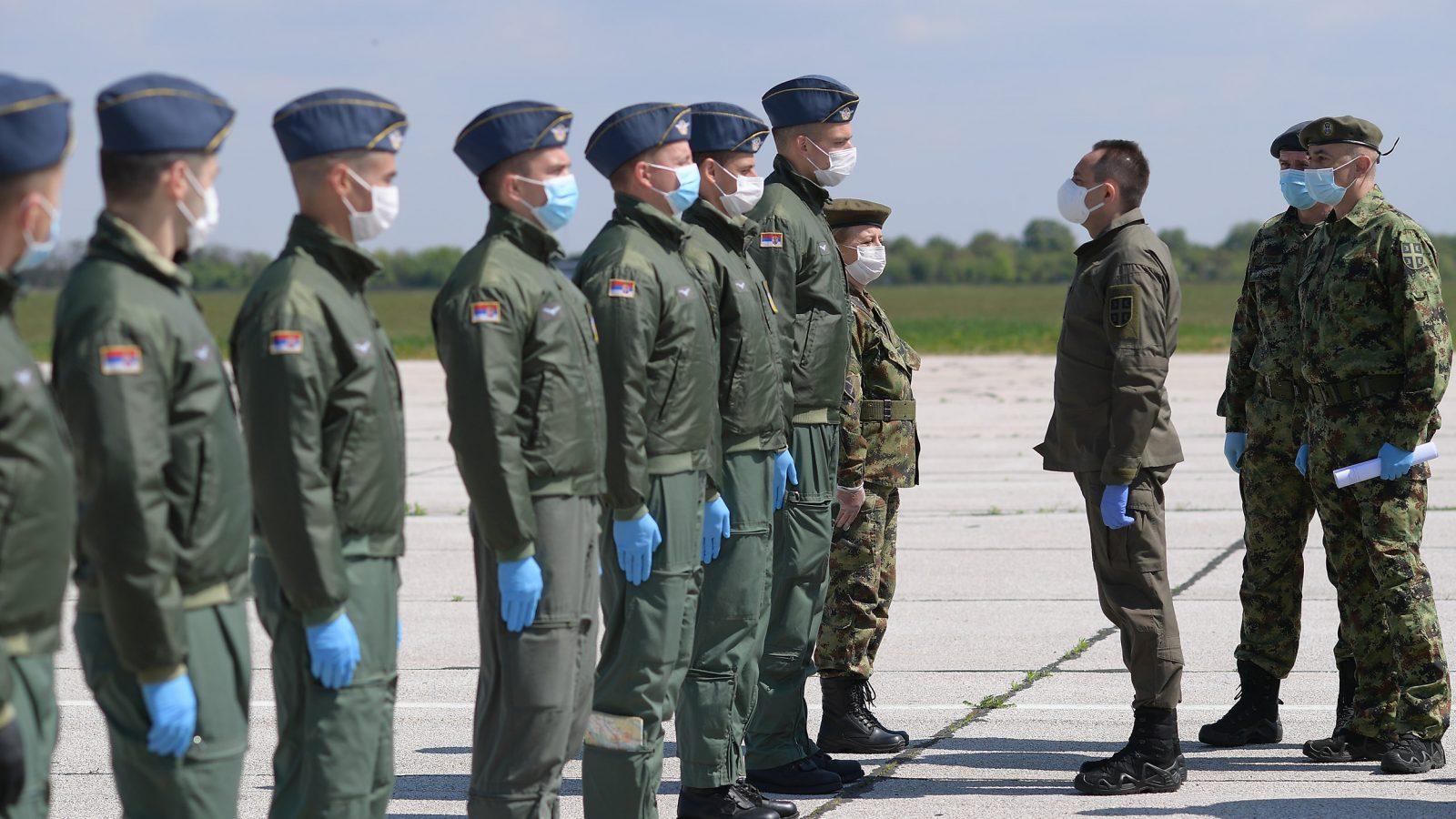 Školovanje budućih pilota i učenika Srednje stručne vojne škole ne prestaje tokom Korone