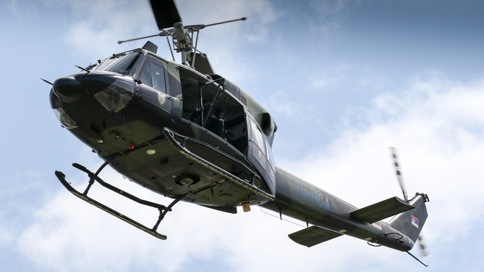 [FOTO REPORTAŽA] Letenje Helikopterske jedinice na Danu MUP-a Srbije