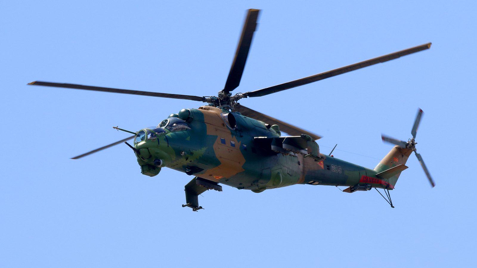 [FOTO REPORTAŽA] Helikopteri Ratnog vazduhoplovstva Severne Makedonije iznad Skopja