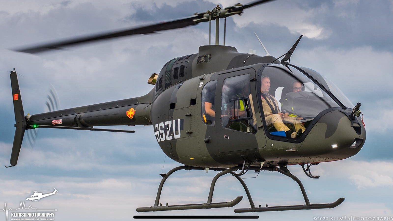 Premijera šeme bojenja prvog helikoptera: Prvi crnogorski piloti završili obuku za helikopter Bell 505 u Francuskoj
