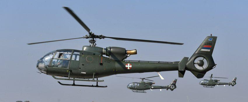 Srbija naoružava lake višenamenske helikoptere Gazela opšte namene