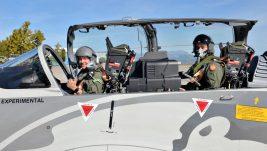 Embraer u Podgorici predstavio Super Tukano, dva pilota Ratnog vazduhoplovstva Crne Gore letela u avionu