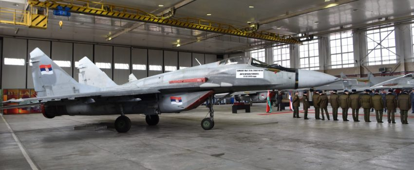 Novosti: MiG-ovi 29 iz Belorusije uskoro u Srbiji