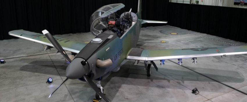 """Ratnom vazduhoplovstvu SAD isporučen prvi laki borbeni avion AT-6E """"Wolverine"""""""