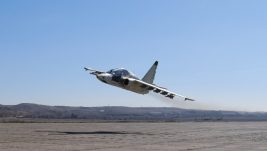 Poleteo prvi jurišni avion Su-25 obnovljen u gruzijskom TAM-u