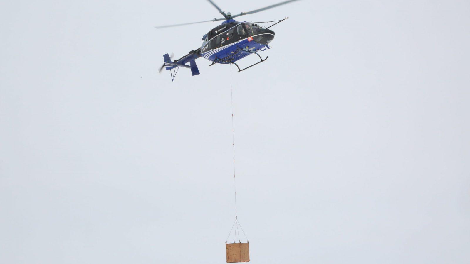 Nove mogućnosti helikoptera Ansat: U toku ispitivanja sa spoljašnjim teretom