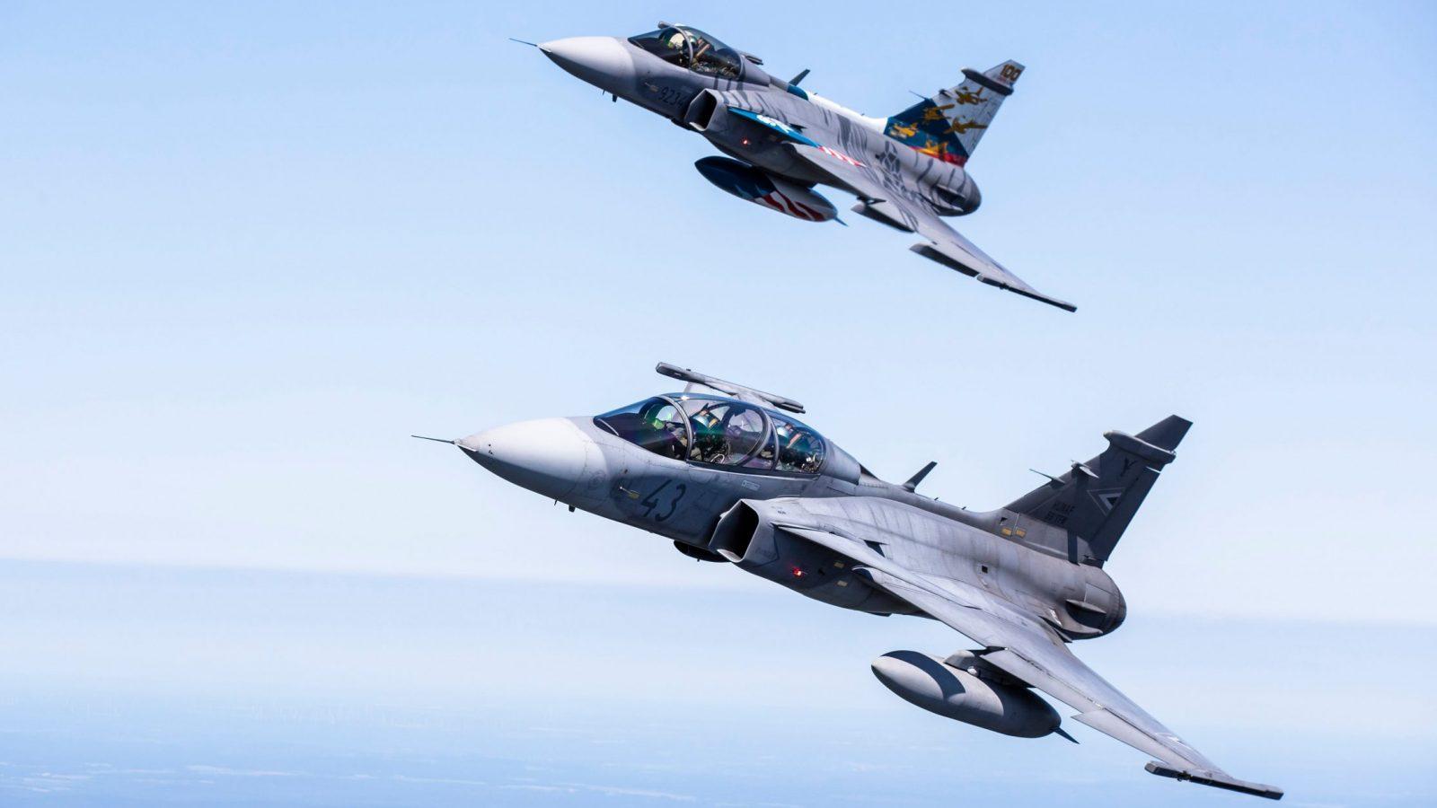 Švedska od SAAB-a naručila buduću razvojnu podršku za avion Gripen