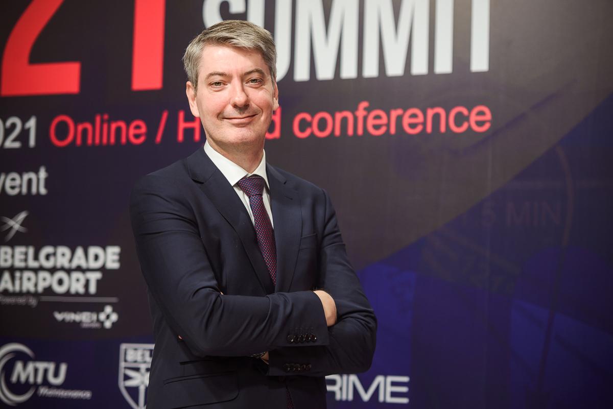 """[SEAS 2021 premijera] Direktor beogradskog aerodroma Fransoa Berizo – budući izgled """"Nikole Tesle"""""""