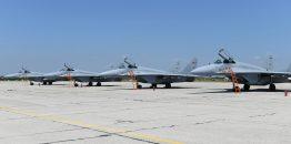 Održana svečanost povodom prijema lovačkih aviona MiG-29 koje je Belorusija donirala Srbiji
