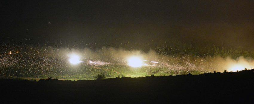 Izvedena najveća vežba Vojske Srbije u noćnim uslovima
