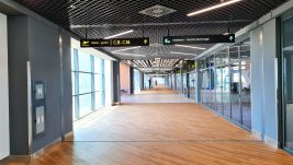 """[REPORTAŽA] Prve fotografije novog izgleda produženog C hodnika aerodroma """"Nikola Tesla"""""""