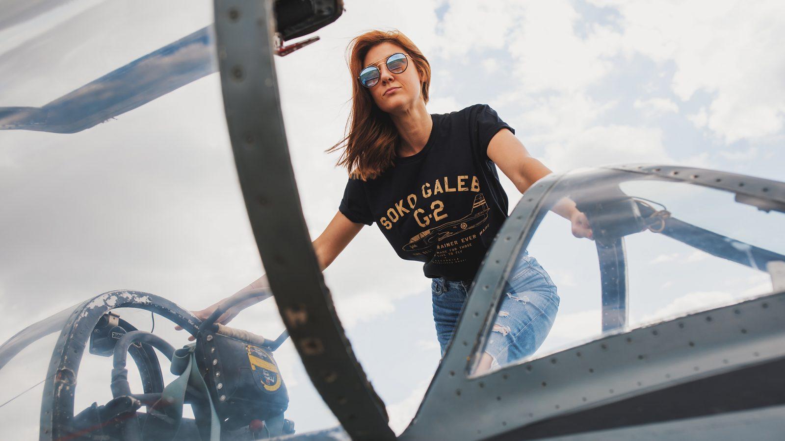 [PREMIJERA] Nove Eskadrila majice posvećene Galebu G-2: 60 godina nikad nije izgledalo ovako dobro – nedelju dana popusta!