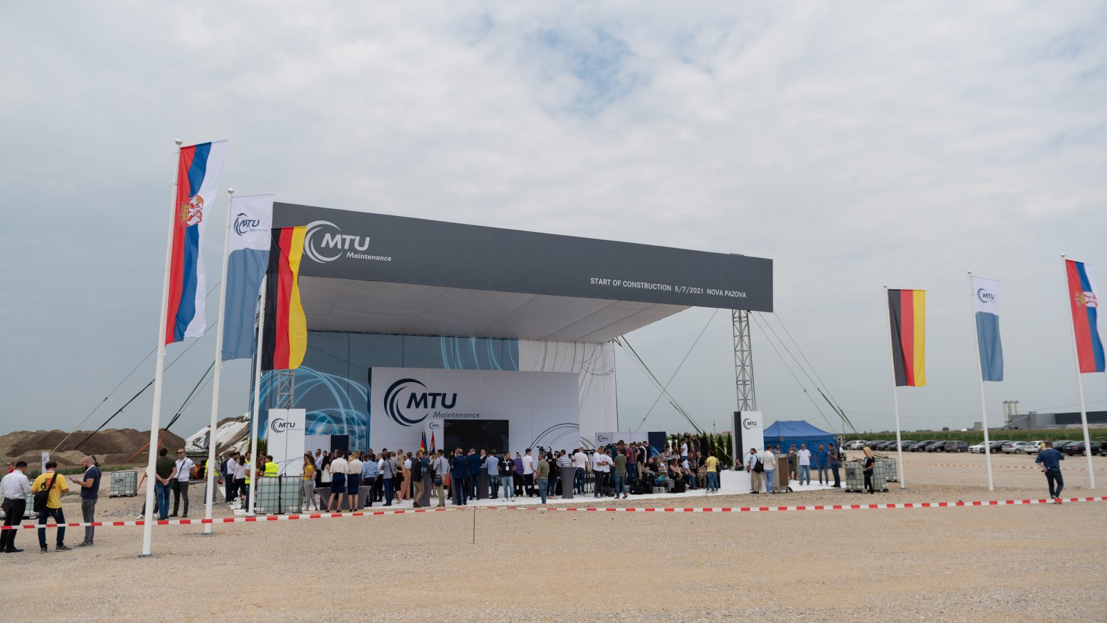 MTU počeo sa izgradnjom postrojenja u Srbiji: Od projektne kancelarije do 500 zaposlenih, početak rada 2022. godine